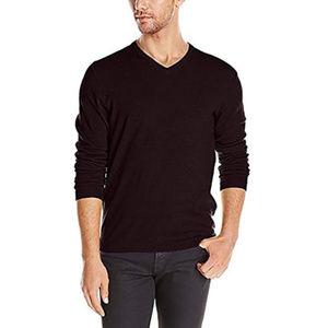 Calvin Klein Men's Merino Wool Sweater V-Neck